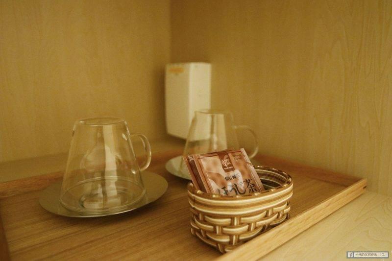 免費茶包,玻璃杯好美><
