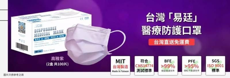 GOtrip快閃12點, 新冠肺炎, 口罩, 台灣製造, 易廷醫療, 台灣口罩