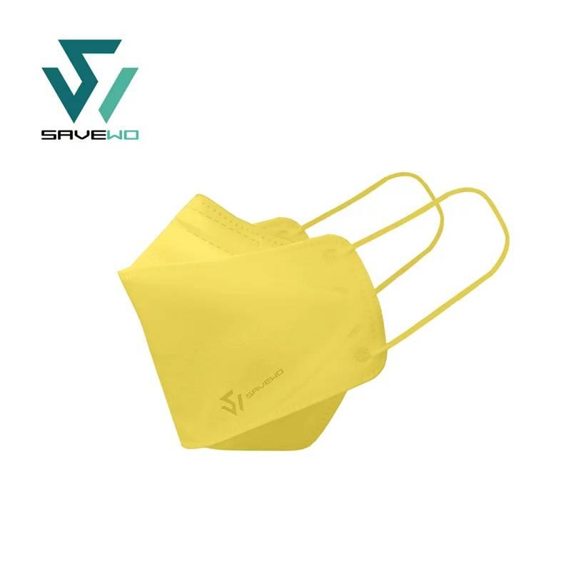 【彩色口罩 SAVEWO】黃色(風鈴木 Yellow Pui)(SAVEWO救世官方網站)
