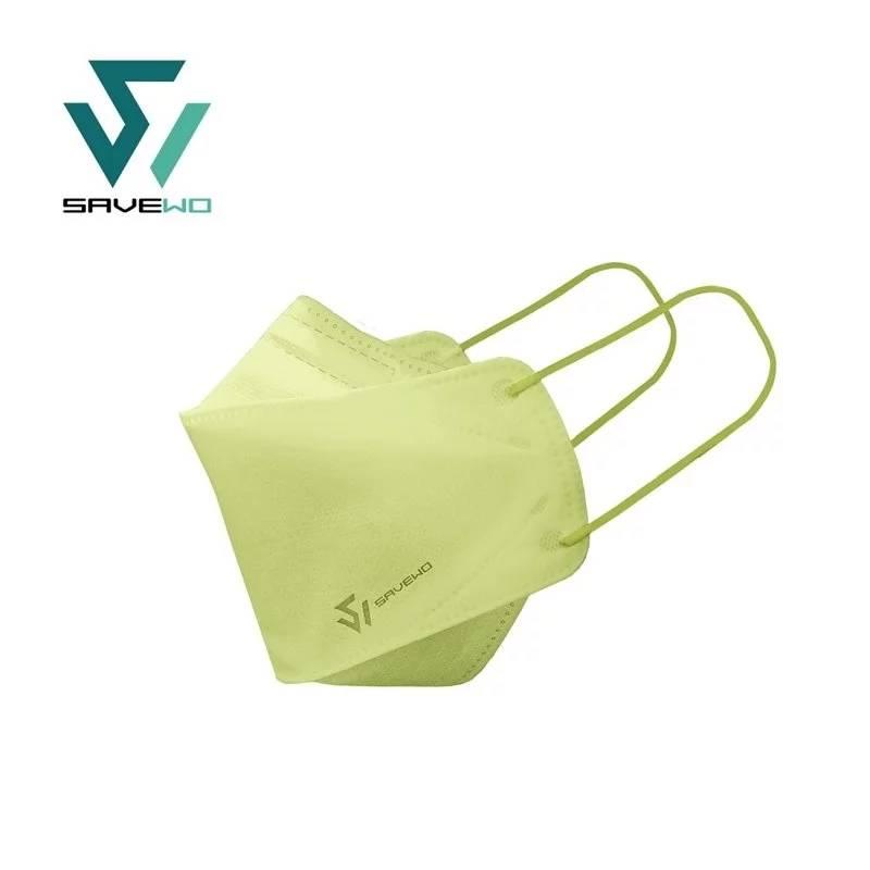 【彩色口罩 SAVEWO】綠色(綠桔梗 Eustoma)(SAVEWO救世官方網站)