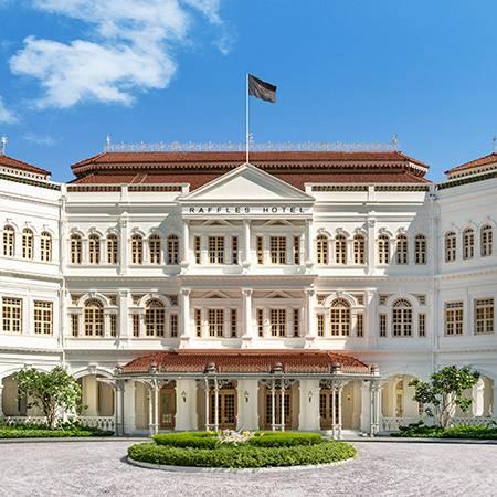 Raffles新加坡外型