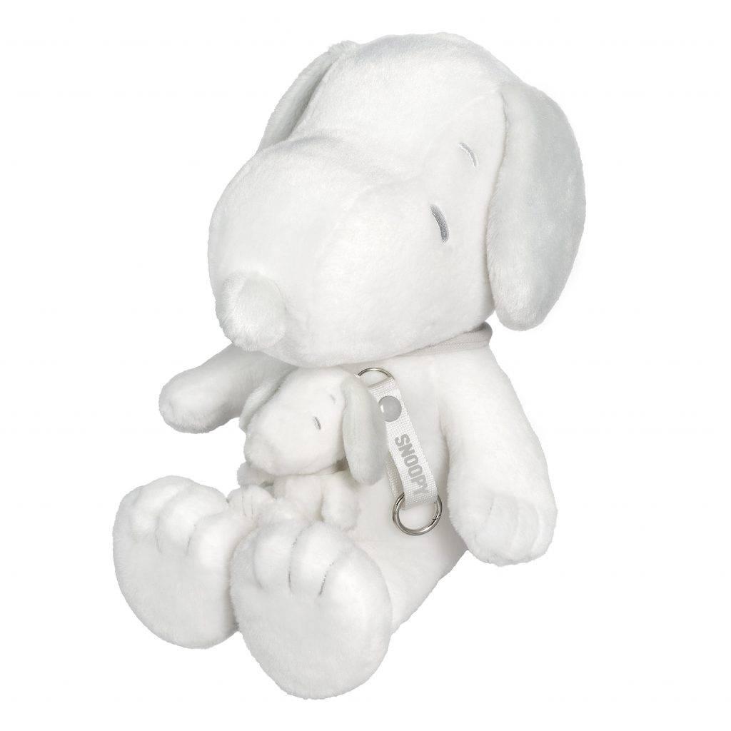 「HAPPINESS IS…」系列同場加映白灰色 Snoopy 毛公仔套裝,一大一細 Snoopy 毛公仔,孖住登場!