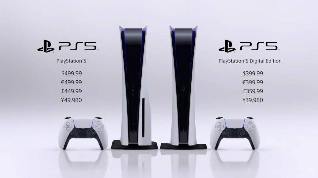 香港PS5價錢及開售日期|PS5分為數位版及光碟版,香港區可在9月18日起開始預定。