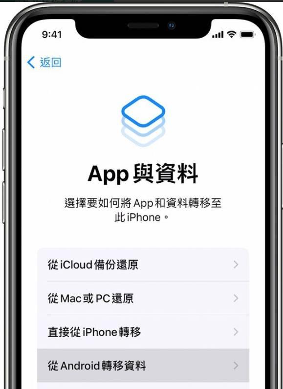 *如已經完成設定,則需要清除iOS裝置後重新開始;不想清除,也可直接手動轉移內容。(圖片來源:apple.com)