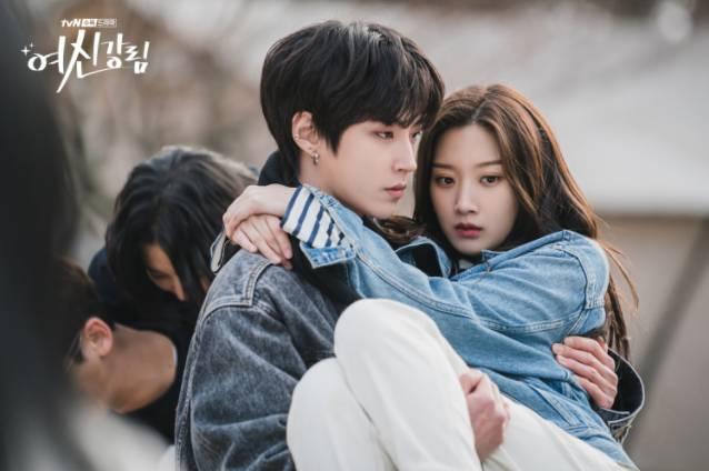 女主角遇上了男二韓書竣。(圖片來源:tvN)