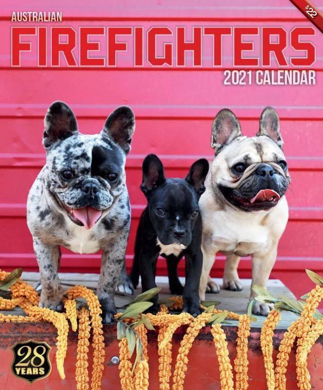 【2021年澳洲消防員月曆】(圖片來源:Australian Firefighters calendar)