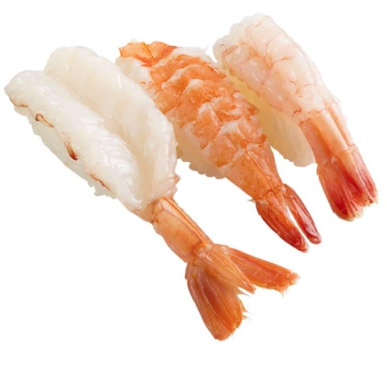 第7位 蝦3味壽司  