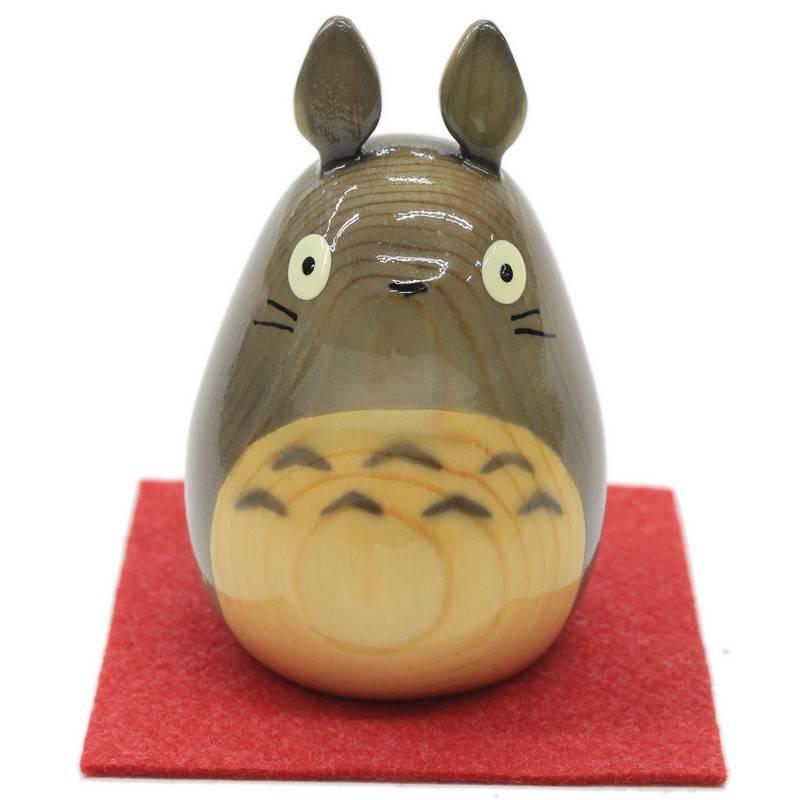 4款龍貓日本製手工木雕擺設
