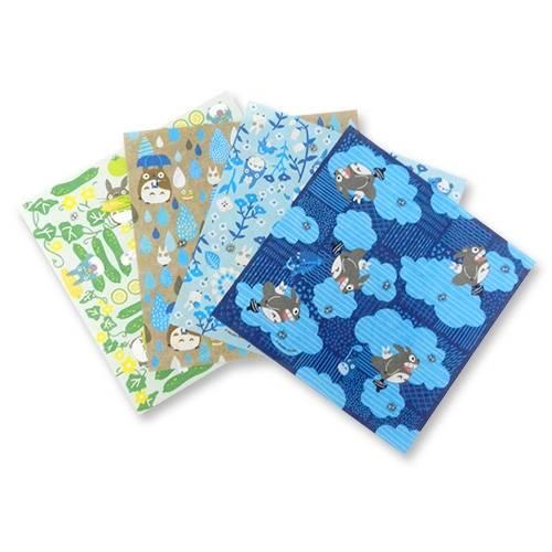 還有龍貓、千與千尋、魔女宅急便、天空之城和紙千代紙摺紙套裝