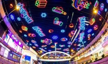 尖沙咀燈飾2020登場 燈海+巨型LED燈幕牆