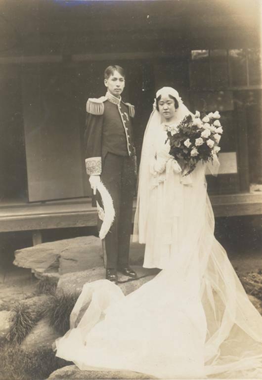 德惠翁主與宗武志的結婚照(圖片來源:首爾歷史博物館網站)
