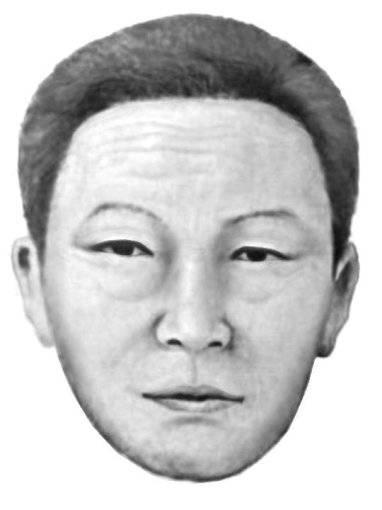 由銀行女職員提供的綁匪素描肖像(圖片來源:SBS NEWS)