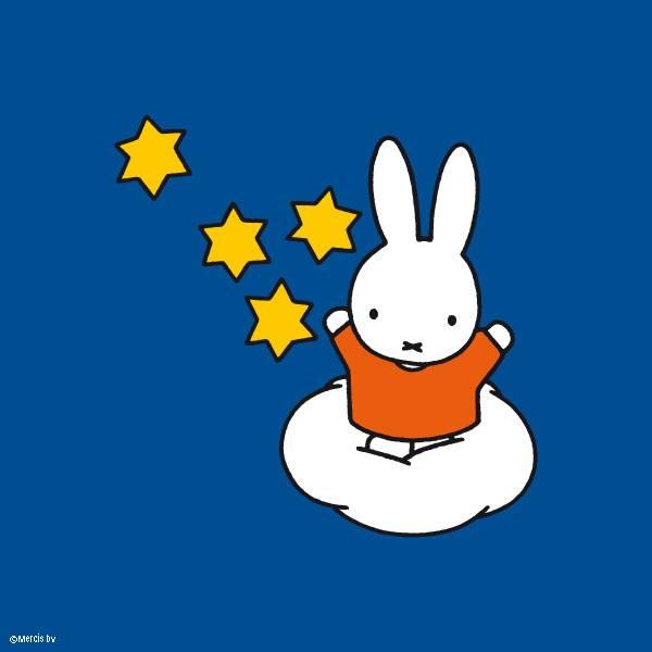 Miffy總是給人一種好天真可愛的感覺(圖片來源:Miffy_UK)