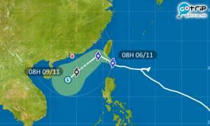 颱風艾莎尼將減弱成熱帶風暴?被季候風彈走仍有影響