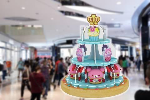 MOKO 新世紀廣場鬆弛熊聖誕裝置
