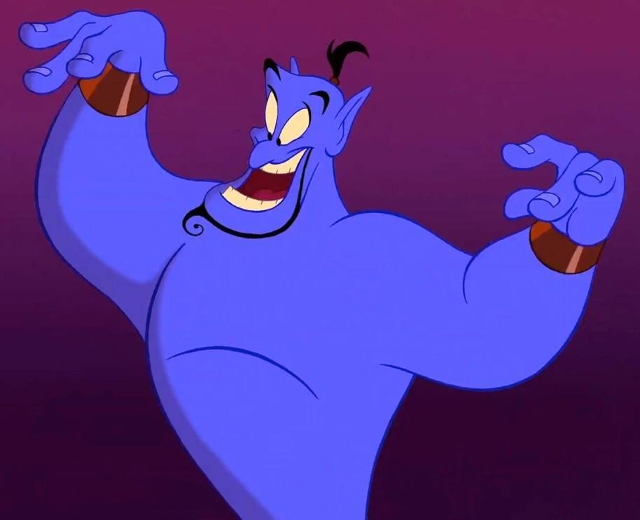 《阿拉丁》精靈都是只有4隻手指(圖片來源:Disney Fandom)
