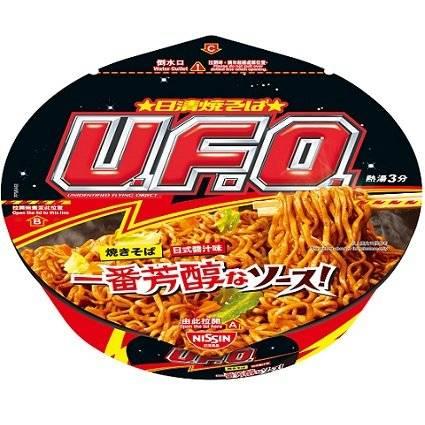 UFO系列都有出香港版 在市面上也很易找到(圖片來源:日清)