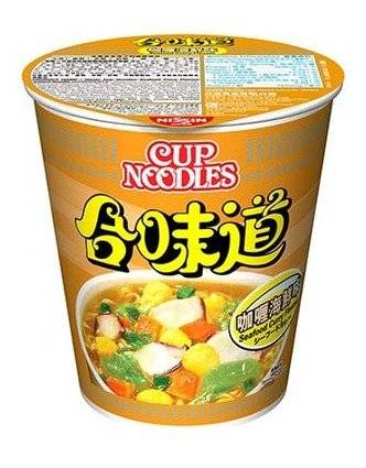 合味道 咖喱味(圖片來源:日清官網)