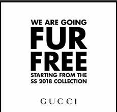 Gucci不會使用真皮草(圖片來源:Gucci)