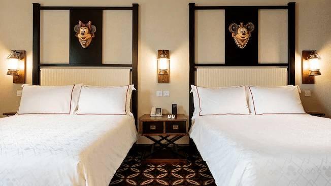 迪士尼探索家度假酒店 標準客房(圖片來源:香港迪士尼樂園)