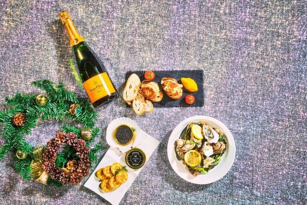 於12月及特別日子期間,客人可獲得奢華的魚子醬!