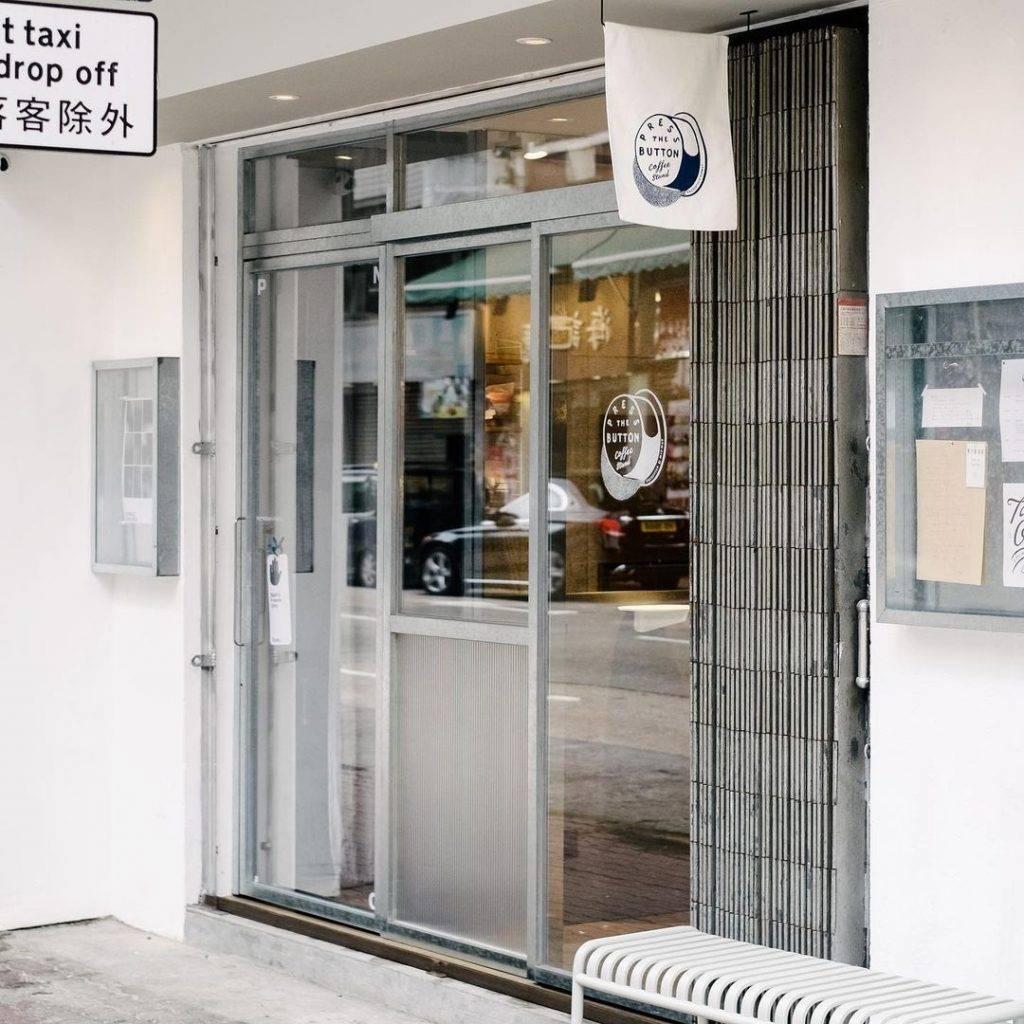 店面的鐵閘是不能錯過的打卡點(圖片來源:Instagram @pressthebuttoncoffee)