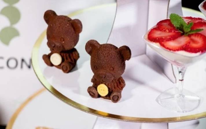 造型細緻的聖誕 ICON 朱古力小熊