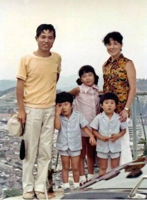 橫田夫婦、橫田惠、弟弟(圖片來源:あさがおの会)