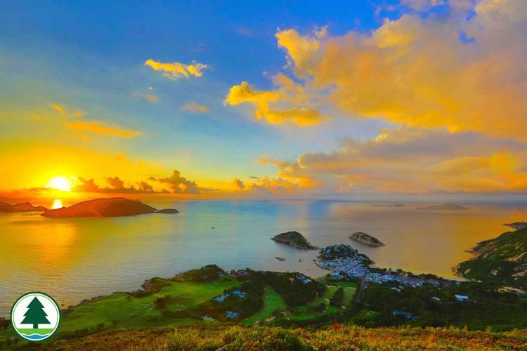 龍脊日出(圖片來源:漁農自然護理署)