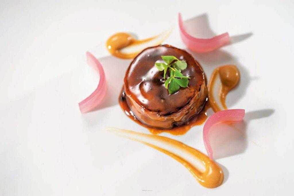 Molino de Urdániz 的菜式,融合了西班 牙多元的料理文化與法國料理的細膩。