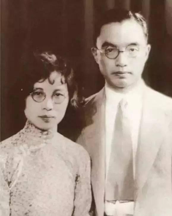 朱自清與妻子武仲謙(圖片來源:百度圖片)