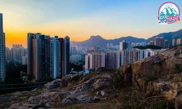 九龍灣平山|30分鐘登頂!新手行山路線+遠眺獅子山+市區日落打卡
