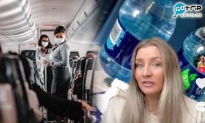 空姐KOL踢爆飛機衛生超惡劣!一個原因千萬別喝熱水