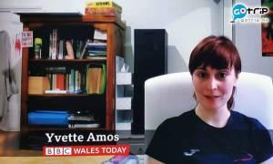 英女BBC訪問片段竟爆大支驚喜!記者:拍嘢記得執書架
