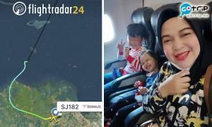 印尼空難 臨時改行程登失事客機 起飛前合照曝光惹熱淚