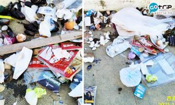 香港郊遊勝地塔門慘變垃圾崗 西貢居民鬧爆自私無家教