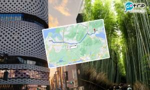 網民挑戰銀座行路去嵐山 相片紀錄沿途隱世景點 網民:我未聽過啲景點名