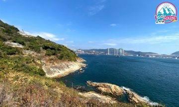 魔鬼山行山|鯉魚門無敵海景 輕鬆登頂看炮台+藍天碧海