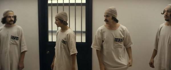 囚犯(圖片來源:電影《史丹福監獄實驗》)
