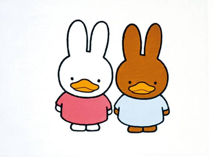 馮教授筆下的鴨兔(圖片來源:柠檬木聚糖@微博)
