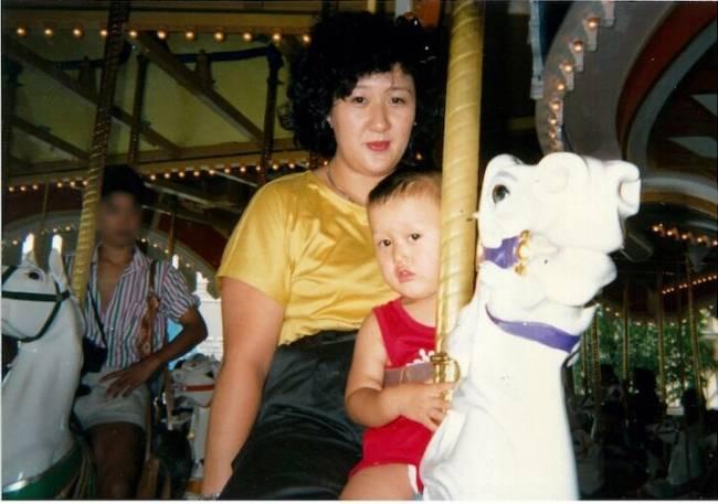 林真須美與長子照片(圖片來源:prtimes.jp)