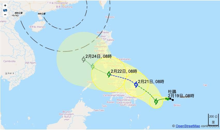 杜鵑升級熱帶風暴 料下周初逼近香港|香港天氣颱風消息