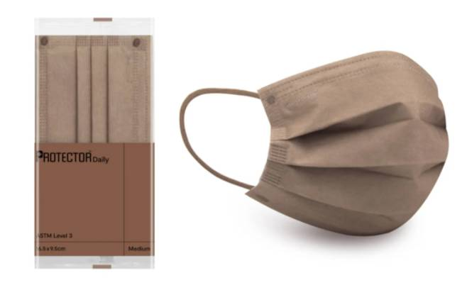 Protector奶茶色口罩|獲消委會5星評級香港口罩 5款超靚奶茶色口罩