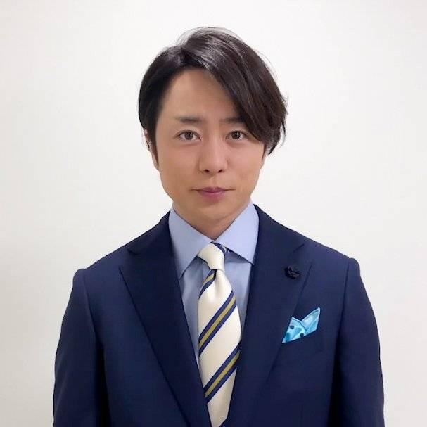 最想與他成為戀人的男藝人|第4位:櫻井翔(圖片來源:Twitter@Tiny91188)