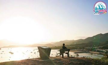大尾篤行山|超輕鬆行山路線 20分鐘行完!船灣淡水湖全景+八仙嶺+大尾篤日落