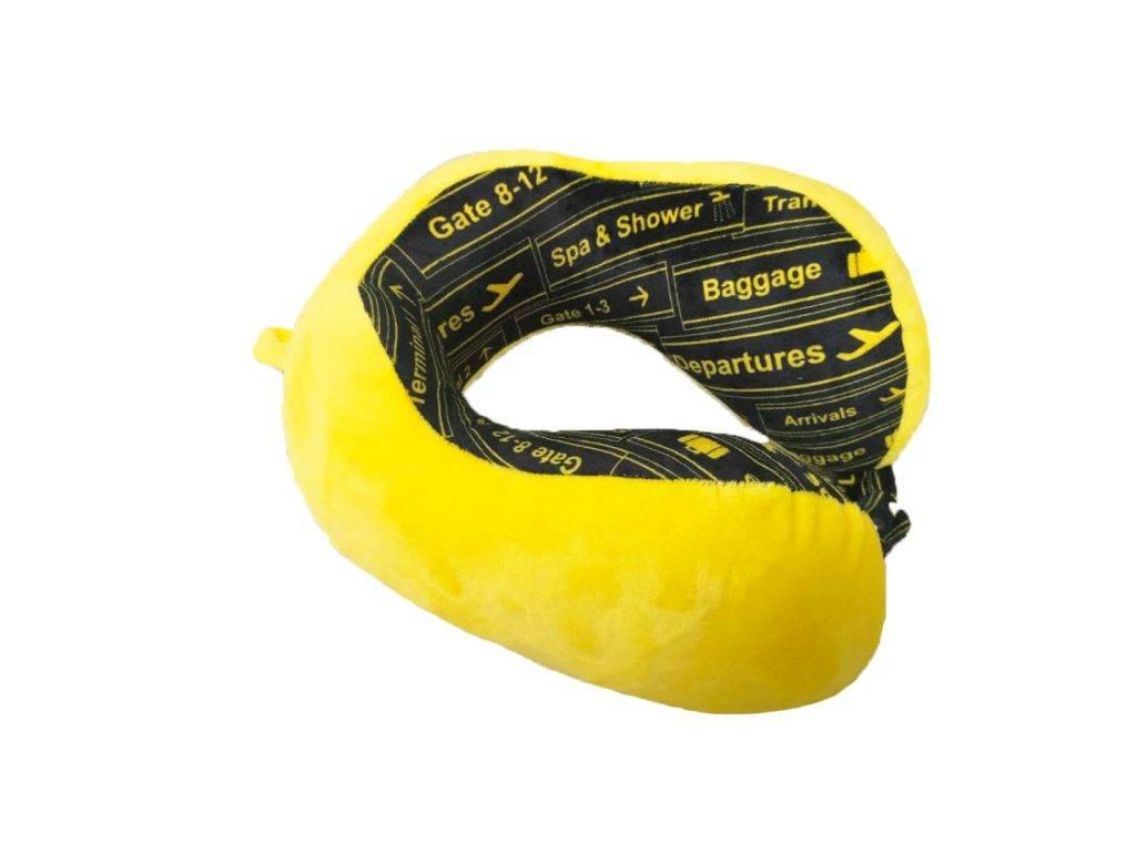 頸枕 – 黃色(原價 8,10個名額)(圖片來源:新傳媒圖片)