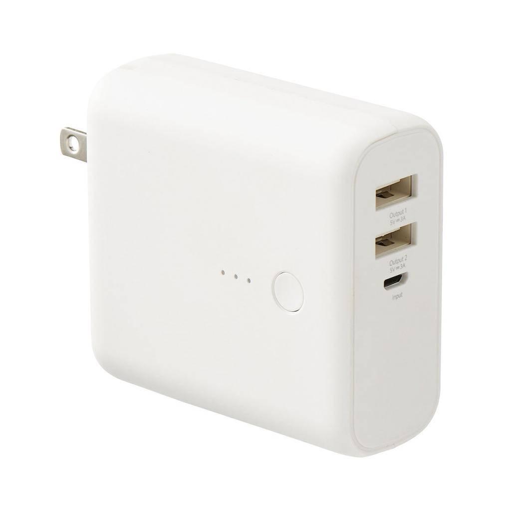 USB便攜充電插座(圖片來源:MUJI)