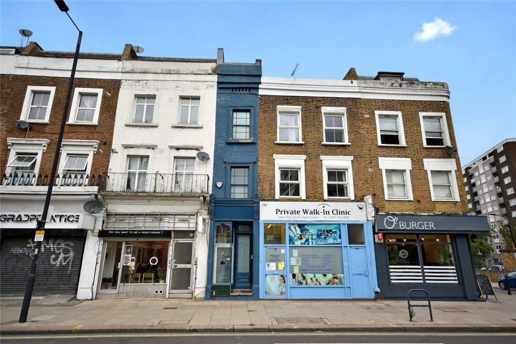 被封為倫敦「最窄房屋」(圖片來源:winkworth.co.uk)