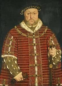 亨利八世照片(圖片來源:維基百科)
