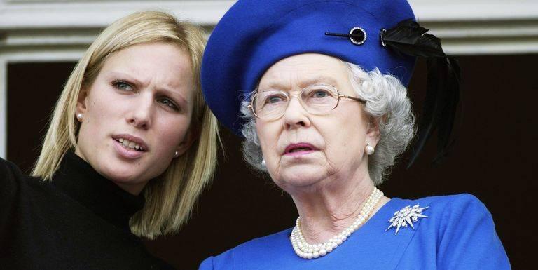 英女王及扎拉菲利普斯(圖片來源:Getty Image)